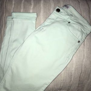 Mint colored pants from express!
